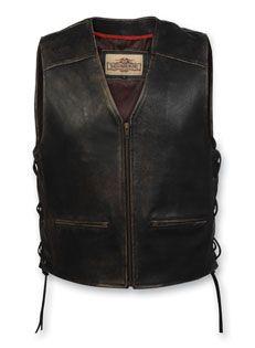 "Men's Milwuakee ""Crazy Horse"" Vest (MV3158)"