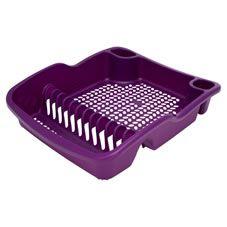 Colour Play Dish Drainer Purple