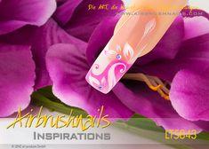 LT5843 Klebeschablonen - LENZ art products - Kreativ von A-Z Nailart, Inspiration, Products, Creative, Biblical Inspiration, Inspirational, Gadget, Inhalation