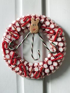 Get Your Front Door in Mint Condition - 9 Clever, Kitschy Holiday Wreath Ideas on HGTV