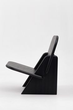 Dolmena armchair by Egor Bondarenko for Polli Products. Outside Furniture, Couch Furniture, Art Deco Furniture, Furniture Projects, Furniture Design, Black Furniture, Plywood Furniture, Modern Furniture, Cool Chairs