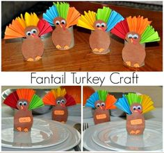 thanksgiving crafts for kids with paper rolls