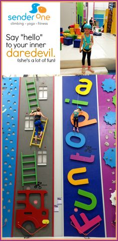 Orange County Indoor Rock Climbing for Kids