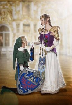 Zelda princess cosplay costume customize for any size