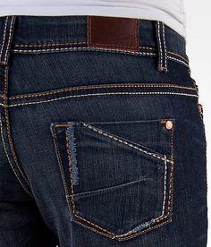 BKE Payton Boot Stretch Jean – Women's Jeans in Burnett 5 Denim Jeans Men, Cut Jeans, Jeans Style, New Design Jeans, Patterned Jeans, Denim Trends, Shoes With Jeans, Denim Fashion, Stretch Jeans