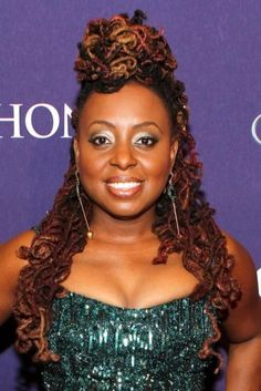 Ledisi's Lovely Locs- this combination of hair color the goal