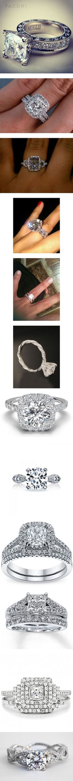 """Wedding Rings! (my DREAM wedding rings)"" by callico32 on Polyvore"
