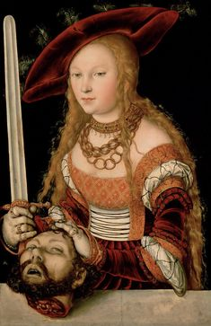 Lucas Cranach the Elder: Judith with the Head of Holophernes (1530)