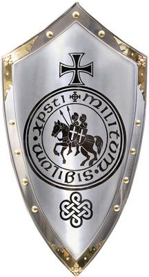 Marto Templar Knights Shield