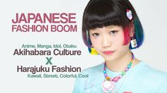 ViDEO★ Akihabara Culture & anime otaku influencing fashion in Japan, fashion report ~ young independent fashion designers in Japan are getting inspiration from anime, manga, and idols to create colorful looks to express their love for the things they like! how to be stylish & otaku at the same time~~!♪