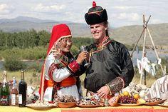 Tuvan bride, siberia