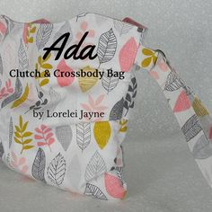 Ada Clutch and Crossbody Bag | Craftsy