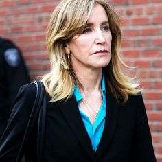 Felicity Huffman & 13 More Plead Guilty In College Cheating Scandal — Read Her Emotional Statement+ New York Socialites, Felicity Huffman, Lori Loughlin, University Of Southern California, College Admission, Julia Roberts, Scandal, Cheating, Interview