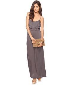Tiered Flounce Maxi Dress | FOREVER21