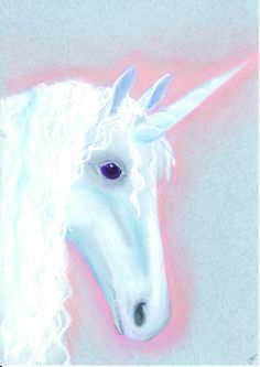 Unicorn spirit guide. Would you like to get your own mystical guide drawing? You can order from www.angelsco.nl (under 'angels')