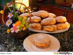 Pražské koláče French Toast, Dishes, Vegetables, Breakfast, Sweet, Recipes, Fine Dining, Plate, Recipies