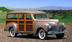 1941 Plymouth Special Deluxe Woody Wagon