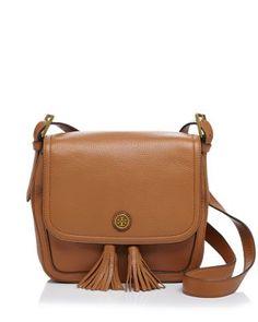 45e6630bbb Tory Burch Frances Saddle Bag. Leather Saddle BagsBrown Leather  HandbagsShoulder ...