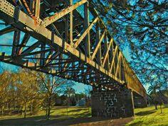 El #Puente de Hierro. #Mérida #ffccExtremadura #prisma