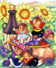 Mignonnes illustrations serie L Lucinda Mc Queen