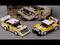 Free LEGO 76897 Audi Rally alternative model building instructions - YouTube