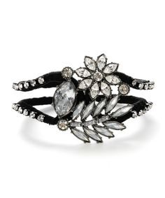 Crystal wrapped bracelet - $65.00 at betseyjohnson.com