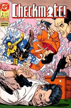 Fully digging this very pulpy Gil Kane cover for Checkmate It's new today from DC Comics. Dc Comic Books, Comic Book Covers, Superman Story, Bronze Age, Dark Night, Marvel Dc, Dc Comics, Sci Fi, Geek Stuff