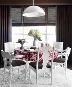 Недорогая и стильная гостиная столовая