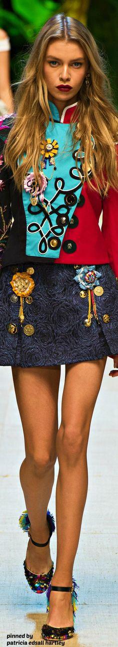 Dolce & Gabbana Spring 2017 RTW