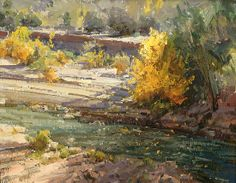 "Along the Paria by Kathryn Stats - Greenhouse Fine Art, 18""x 23"" $5300"