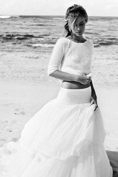 Delphine Manivet Hawaiian Grace Shoot Pictures and Video (BridesMagazine.co.uk)