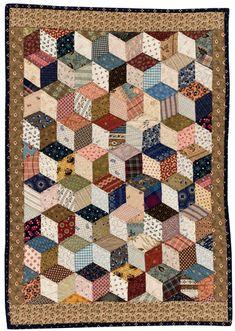 Tumbling Blocks by Kathleen Tracy