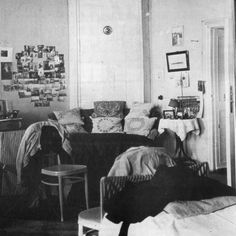 OTMA's room in Tobolsk, where Romanov girls lived in captivity and have no servants. Look at the pillows - the embroidery was crafted by their mother Alix. Some pillows would be returned to Alexander Palace in Tsarskoye Selo and one can see them there. Some of these pillows would be destroyed by murderers, after Anna Demidova and girls took the pillows to the cellar of the Ipatiev House on that last night