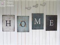 """XXXL """" HOME """" - Schilder Shabby Chic"""