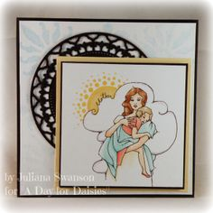 Stampin with Inky Fingers: Sweet Mother #ADFD #ADayForDaisies