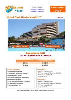 Hotel Club Costa Verde - Cefalù (Pa) #Capodanno 2017 Per info e preventivi tel 0921428602 Email: info@demirviaggi.com Web: www.demirviaggi.com #Sicilia #Viaggi #LastMinute #Offerte