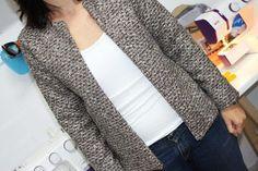 Chaqueta estilo chanel. Chanel jacket Chanel, Blazer Jacket, Blazers, My Love, Jackets, Fashion, Style, Down Jackets, Moda
