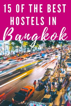 A round up of the best hostels in Bangkok. From social hostels for meeting fellow travellers, to premium hostels for the flashpackers out there! Thailand Travel Guide, Hostel, Bangkok, Amazing Photography, Backpacking, Travel Inspiration, Budget, Suit, Good Things