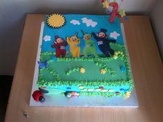 Jessi's 1st Telletubbies Cake