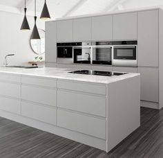 Crown Imperial Pinova Kitchen - Pure White