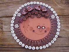 Ceramic Wall Art, Ceramic Pottery, Pottery Art, Clay Creations, Clay Art, Diy And Crafts, Decorative Plates, Ceramics, Projects