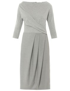 MaxMara stretch-jersey and twill Scrigno dress, £338