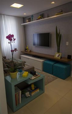 Home Living tv - Projeto By Le Haus Arquitetura