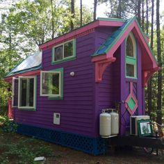 Purple Ravenlore House as seen on HGTV!