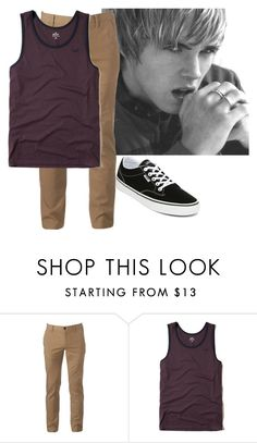"""OOTD"" by fxllen-rebel-slvts ❤ liked on Polyvore featuring Urban Pipeline, Hollister Co. and Vans"