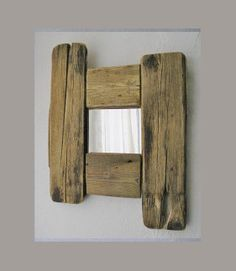 Beautiful unique driftwood mirror, handmade, from Causeway Coast, Ireland, driftwood decor, eco friendly