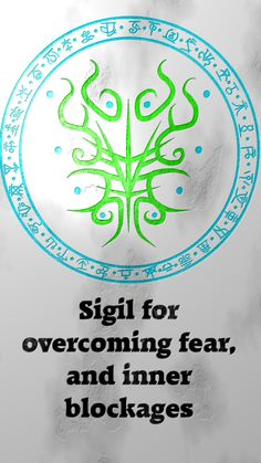 "wolfofantimonyoccultism: "" Sigil for overcoming fear, and inner blockages Sigil requests are closed. For more of my sigils go. Wiccan Symbols, Magic Symbols, Wiccan Spells, Magic Spells, Witchcraft, Alchemy, Spiritus, Book Of Shadows, Tarot"