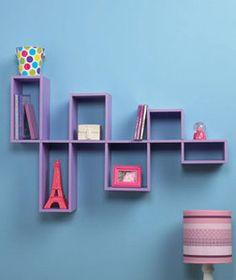 Purple-Modular-Wall-Shelf-Unit-for-Photos-and-DVDs-CDs-Home-Teen-Room-Decor