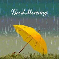 Rainy Morning Quotes, Good Morning Rainy Day, Good Morning Picture, Good Morning Good Night, Morning Pictures, Good Morning Images, Rainy Days, Morning Dew, Rainy Weather
