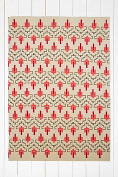 Maira 5x7 Rug in Red